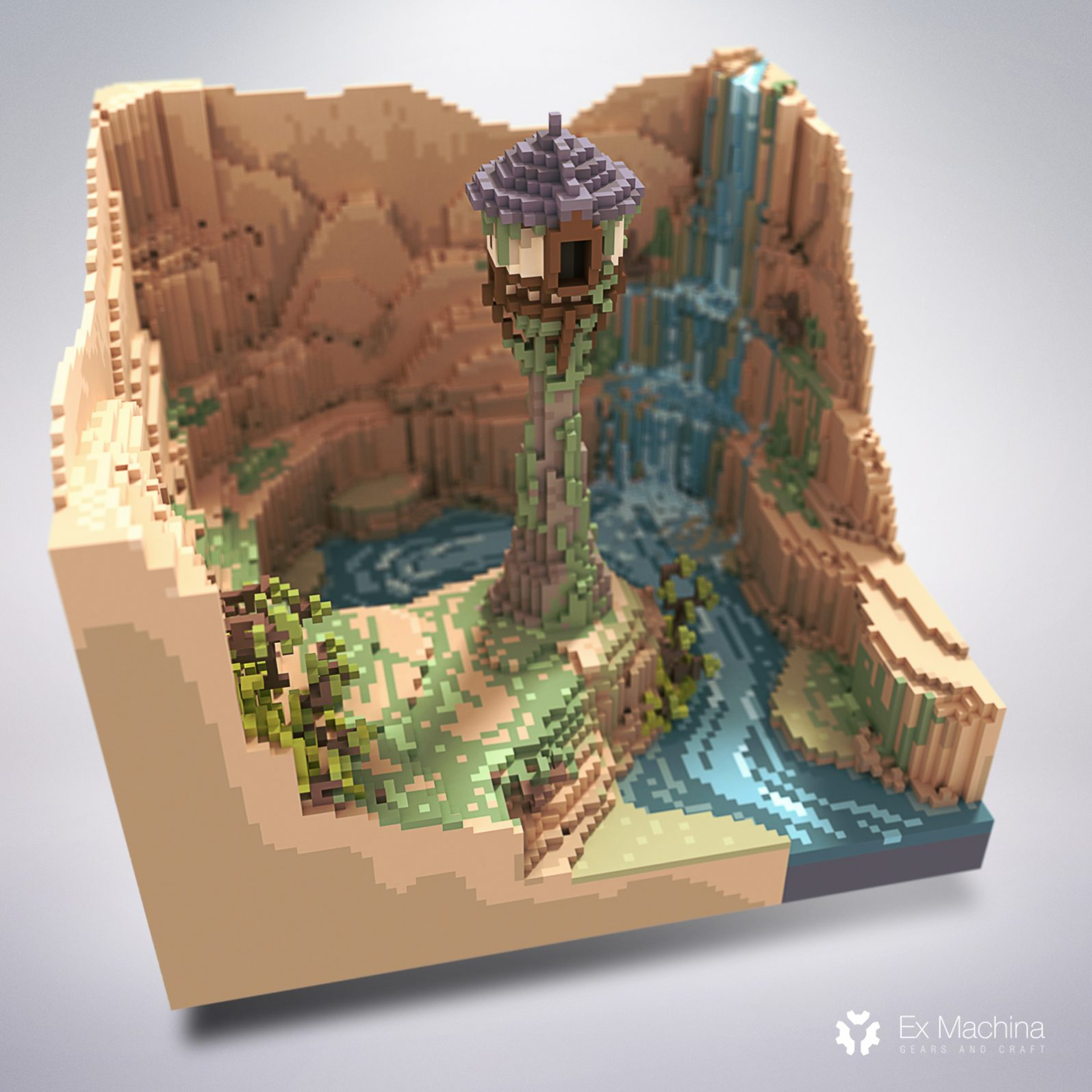 Tangled tower