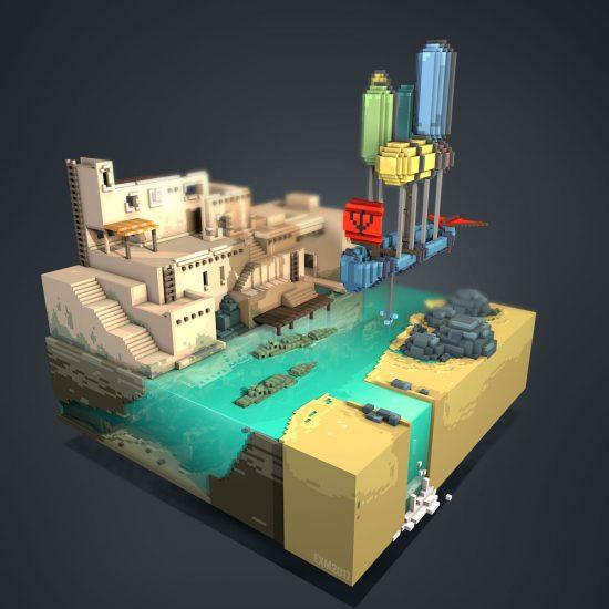 Inca city - thorgal tribute