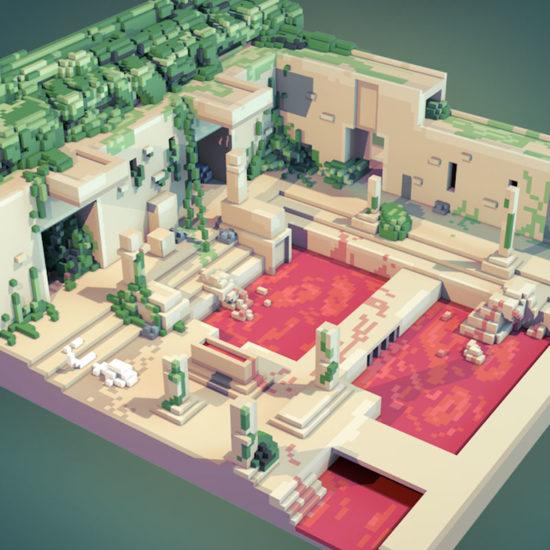 loisel voxel temple