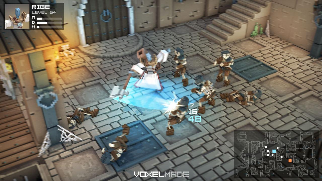 voxel dungeon rpg gamedev